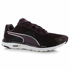 Puma Faas 500 V4 Running Shoes Womens Black/Purple Trainers Sneakers Sports Shoe