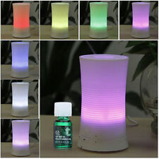 LED Light Essential Aroma Diffuser Ultrasonic Humidifier Aromatherapy Atomizer