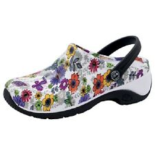 CLOGS  ZONE Anywear Injected Clog w/Backstrap ZONE  Float Away Flowers