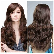 Sexy Women's Long Curly Wave Fancy Dress Party Wigs Hair Fashion Ladies Full Wig