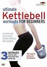 Ultimate Kettlebell Workouts for Beginners  New (DVD  2013)