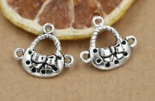 8/30/150pcs Tibetan Silver Beautiful  Jewelry Charms Pendant Connector 18x20mm