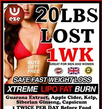 STRONG WEIGHT LOSS PILLS FAT BURNERS STRONG DIET SLIMMING BUY** 2 GET 1 FREE**