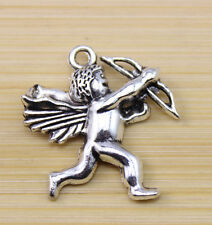 wholesale 10/30/100 pcs Retro style Very lovely angel alloy charm pendant