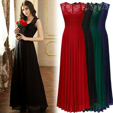 MIUSOL New Exquisite V-Neck Cocktail Evening Party Bridesmaid Formal Long Dress