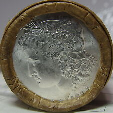 $20 MORGAN SILVER DOLLAR ROLL 1896 FRONT & 1886 ON BACK 20 coins total N/R