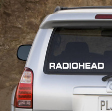 Radiohead Sticker | SET OF TWO | Radiohead Decal