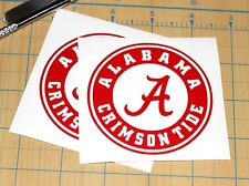 Alabama Crimson Tide Sticker | SET OF TWO | Crimson Tide Decal