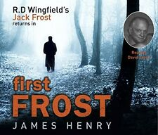 Book : First Frost by Henry  James CD-Audio New