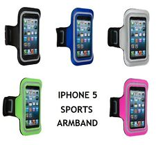 NEW SOFT NEOPRENE SPORTS GYM RUNNING JOGGING ARMBAND FOR APPLE IPHONE 5 5S 5C
