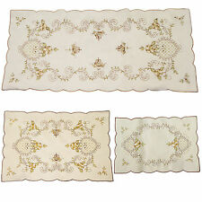 Traditional & Vintage Table Runner / Tray Cloth – Perfect Kitchen Decoration