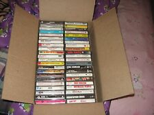 lot of 44 cassette tapes ASIA APRIL WINE AL GREEN  and MUCH more ( lot 004 )