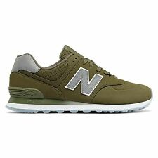 New Balance 574 Classic Traditionnels Olive Men's Low Top Trainers