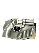 Pistol & Bullets Buckle & Free Belt All SIZES