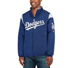 Majestic Los Angeles Dodgers Royal On-Field Therma Base Thermal Full-Zip Jacket
