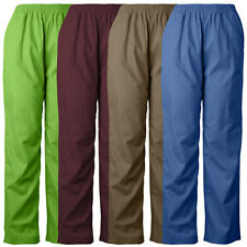 MedGear Unisex Elastic Scrubs Pants 802MG, Medical Uniform Pants, Various Colors