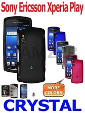 AMZER Crystal Snap On Hard Case Screen Protector For Sony Ericsson Xperia Play