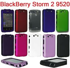 AMZER Crystal Snap On Hard Shell Case Cover For BlackBerry Storm 2 9520
