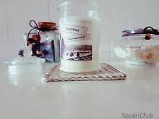 SCENTED Soy Wax Apothecary Jar Candle, Natural Elegant Handmade Candle Vanilla