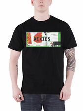 The Pixies T Shirt Head Carrier Band Logo new Official Mens Black
