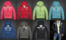 HOLLISTER BY ABERCROMBIE MENS HOODIE SWEATSHIRT ZIP PARADISE COVE JUMPER JACKET