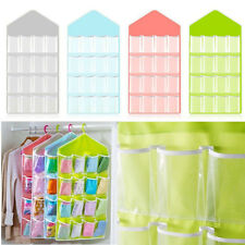 16Pocket Over the Door Shoe Organizer Space Saver Rack Hanging Storage Hanger