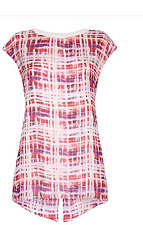 BNWT Damsel In A Dress Opal SILK Top Pink/White/Purple Sizes 8 12 14 18 RRP £109