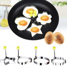 8PCS Thick Stainless Steel Omelette Mold Control Rice Omelette Mold Love Cook US