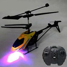 Mini RC Helicopter Radio Remote Control 2Channels drone Aircraft Helicopter TAN