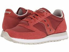 Saucony JAZZ ORIGINAL Mens Red S2044-386 Casual Lace Up Shoes
