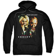 Bride of Chucky Movie CHUCKY GETS LUCKY Licensed Adult Sweatshirt Hoodie