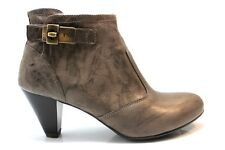 Nero Giardini A513321 Grey-green Boots ankle Woman With Plateau Elegant