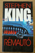 STEPHEN KING rare hungarian edition fROM A bUICK 8
