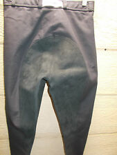 Cavallo Champion Black Full Seat Dressage Breeches Womens Size 24L New w/ Tags