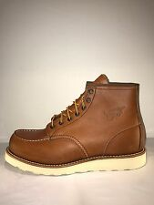 "Red Wing HERITAGE 6"" Mens Oro-Legacy Leather 10875 MADE IN USA Moc Toe Boots"