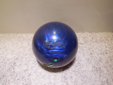 USED Columbia Eruption Pearl Reactive Bowling Ball, Blue/Violet, 16 LB