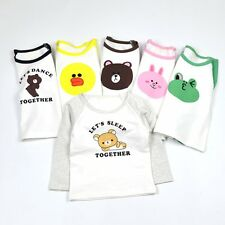 Toddler Kids Baby Boys Girls Long Sleeve Animal Cotton T-shirt Tops Tees Clothes