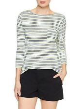 NWT GAP Women`s  Favorite Three-quarter Sleeve Boatneck Tee Top Blouse L,XL, XXL