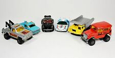 Lot of 6 Made in France 1970's Majorette Vintage Diecast Cars Collectables