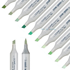 Copic Sketch Markers Green Colors - Choose one -single marker pen