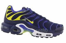 Nike Air Max Plus Tn Tuned 1 Binary Blue Electro Lime Green Mens  852630 402