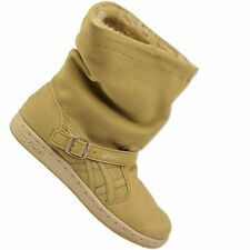 Asics Onitsuka Tiger meriki Winter Boots Ankle Boots Mexico 66 Camel Beige