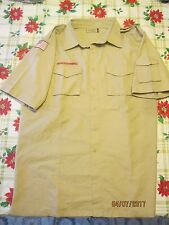 BSA/Cub,Boy Scout Tan Centennial Sht.Slv. Mens/Boys Shirt with left Slv. Pkt.-9