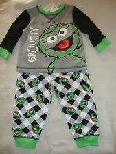 "SESAME STREET ""OSCAR""  SLEEP / PLAY SET 2 piece NWTS ADORABLE ""GROUCHY"""