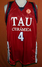 LUIS SCOLA  TAU CERAMICA BASKETBALL JERSEY SEWN NEW ANY SIZE