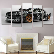 Framed Home Decor Canvas Print Painting Wall Art Ford Mustang RTR Car Poster