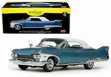 SUNSTAR 1:18 PLATINUM COLLECTION 1960 PLYMOUTH FURY CLOSED CONVERTIBLE SS5412