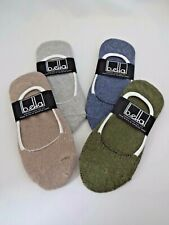 Footies no show socks recycled cotton blend ladies size 9-11 b.ella Vera