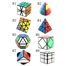 Plastic Cube Puzzle Toy 3D Magic Cube Twist Brain Teaser Game Novelty Gift