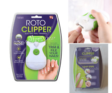 NEW! Fashion Roto Clipper Electric Nail Trimmer As Seen On TV